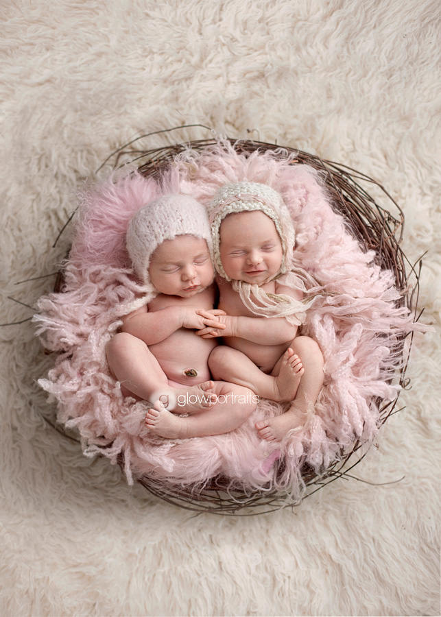Newborn | Natalie & Locklynn | Fort St. John, BC Twin Newborn ...