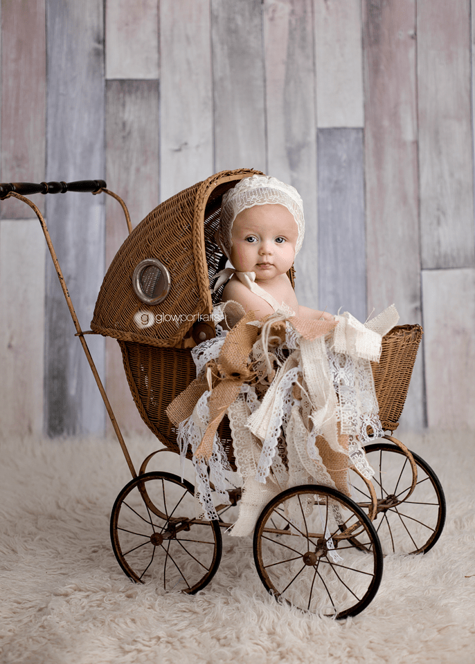 baby in carriage buggy