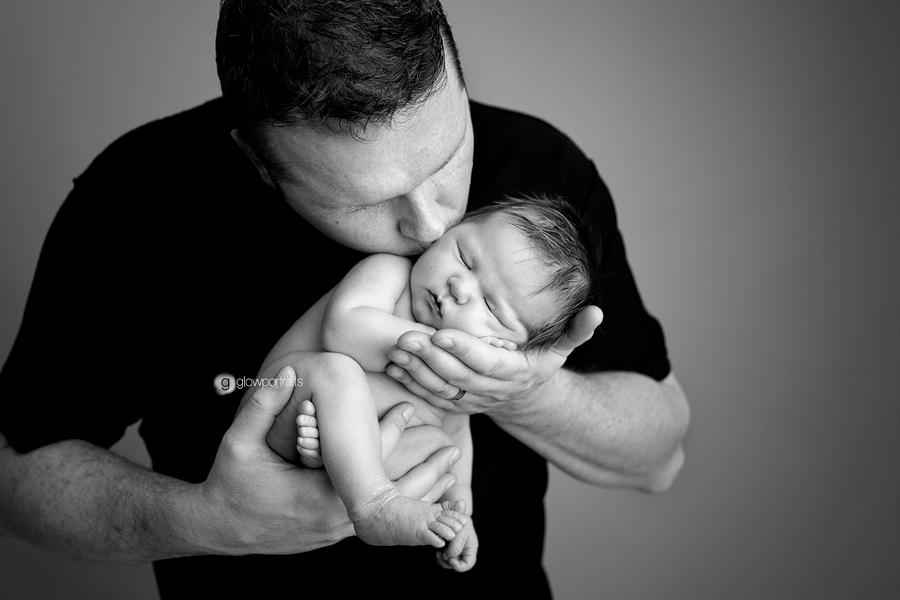glow portraits newborn